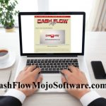 laptop with Cash Flow Mojo Onscreen