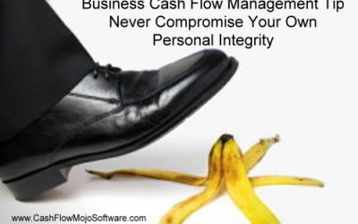 Business Cash Flow Management And Personal Integrity
