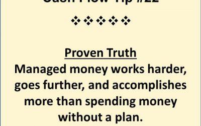 Cash Flow Plan – The Backbone of Proper Finances of your Business
